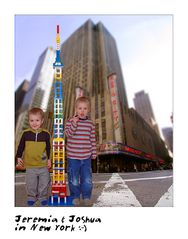 Jeremia & Joshua in New York :-)