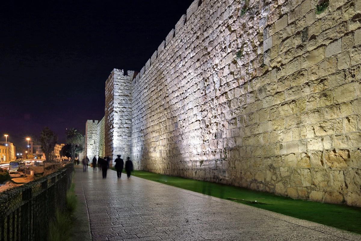 Jerusalem 2013 by night