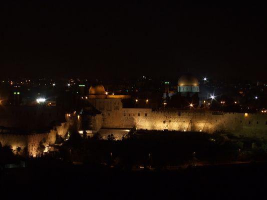 Jerusalem vu du côté palestinien