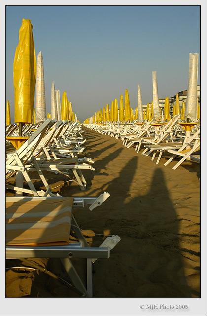 Jesolo Beach 7am