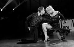 Jesper Birkehoj&Anna Kravchenko beim Paso Doble - Deutsche Meister in lateinamerikanischen Tänzen