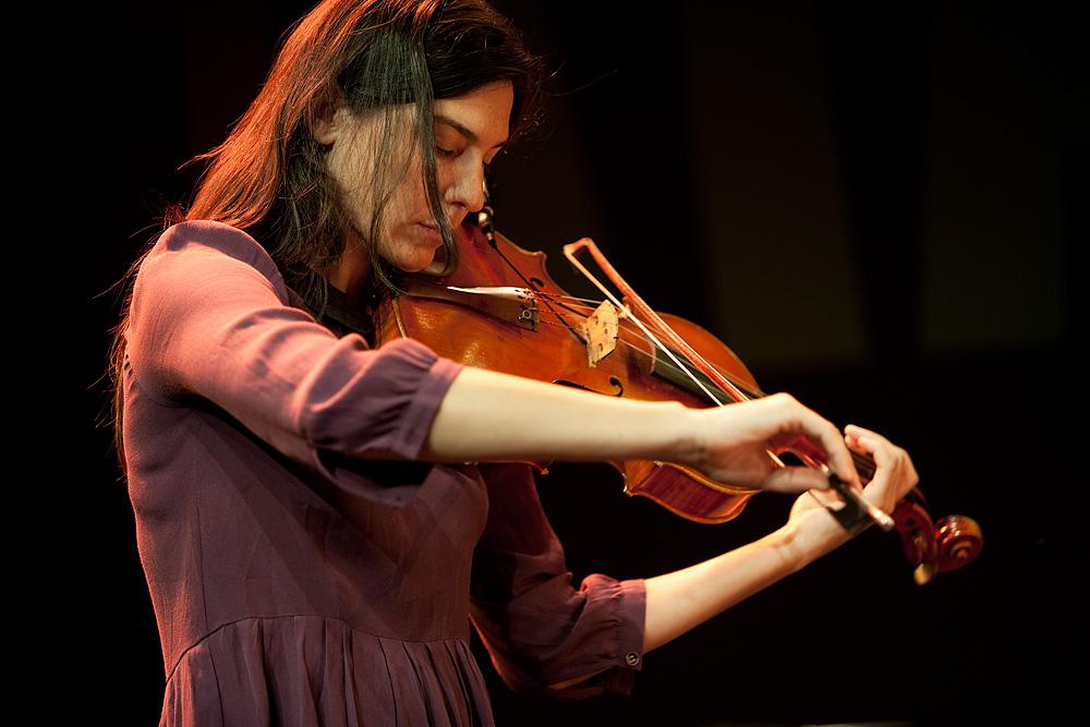 Jessica Pavone | violin, viola | Jazzfestival Saalfelden 2011