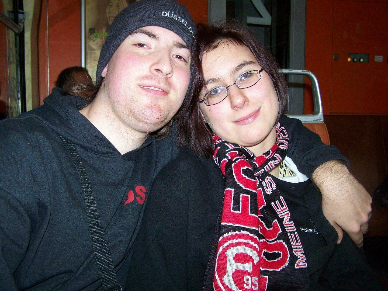 Jessy & Ich in der S-Bahn