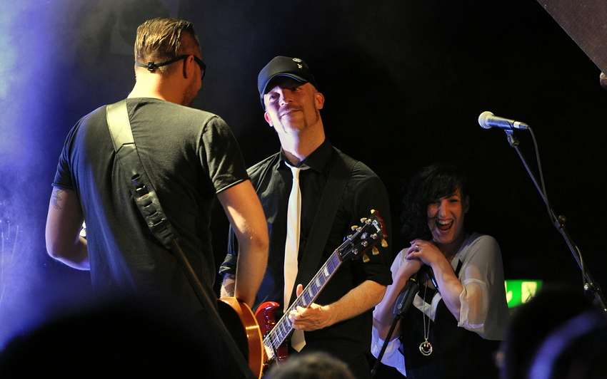 Jessy Martens & Band live @ Fabrik Hamburg