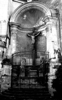 Jésus à la cathédrale Saint-Maurice d'Angers