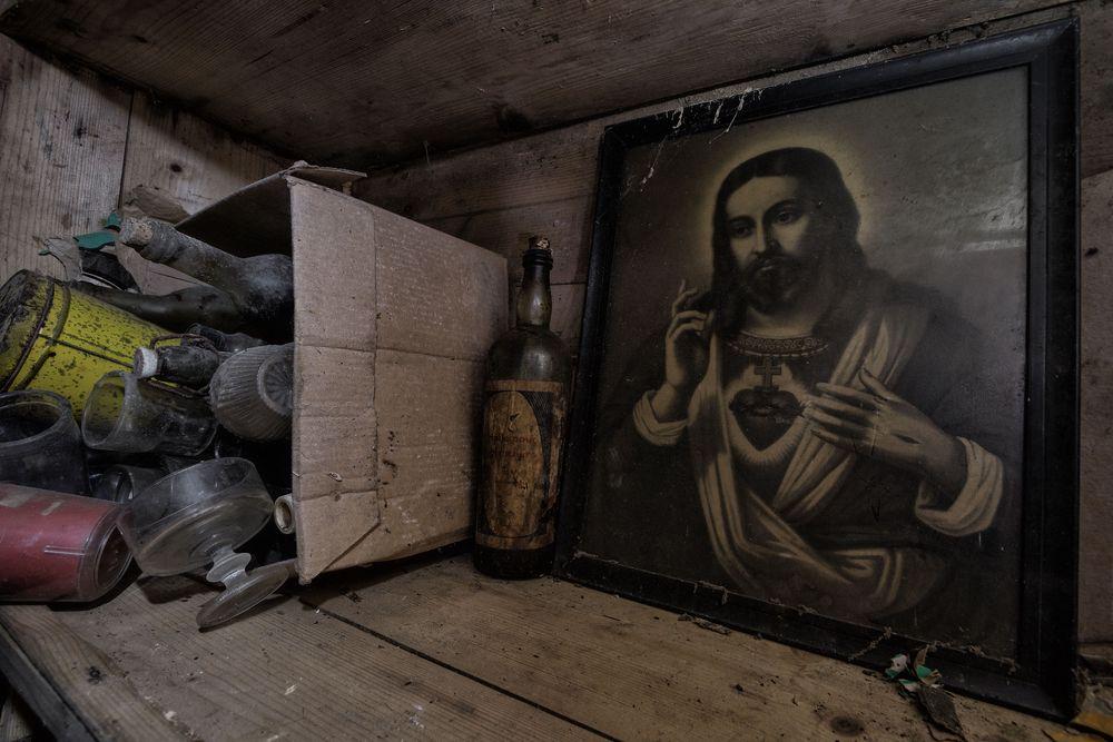 Jesus in der Kiste...