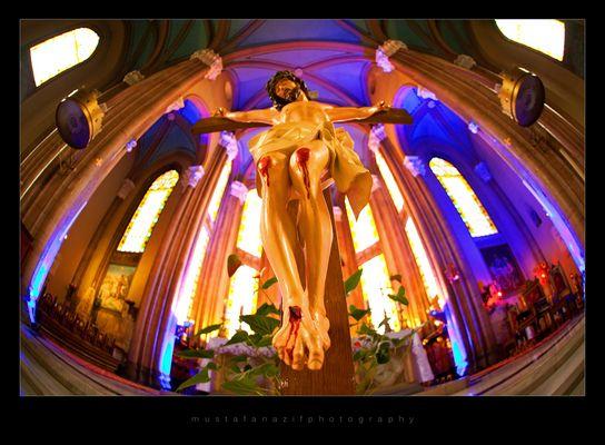jesus - saint anthuan church - turkey / istanbul