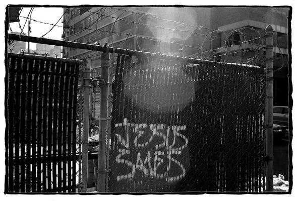 Jesus saves...