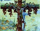 jésus sur la croix en duo