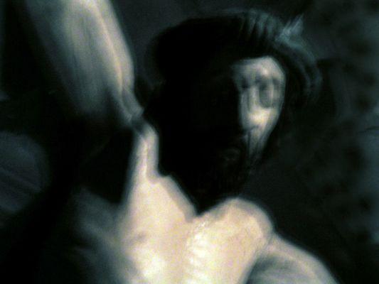 Jesus unscharf