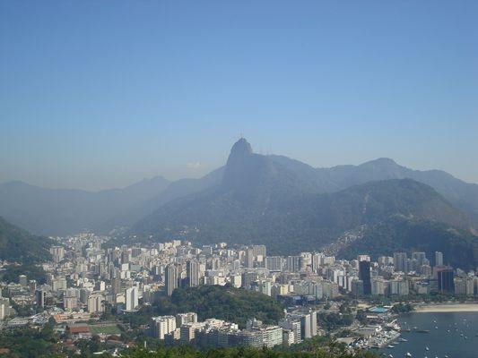 Jesus wacht über Rio de Janeiro