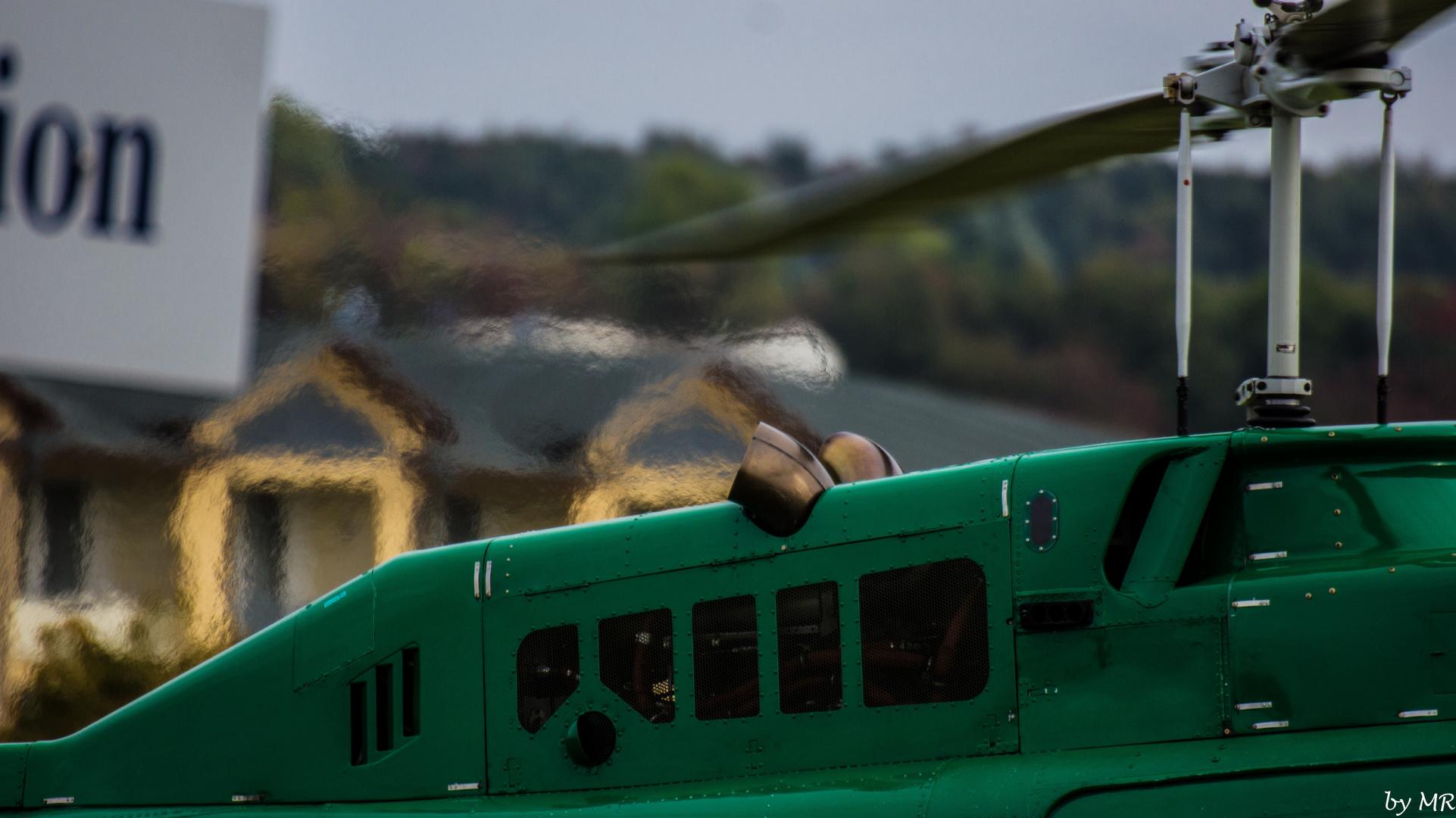 Jet Ranger- Abgashutze