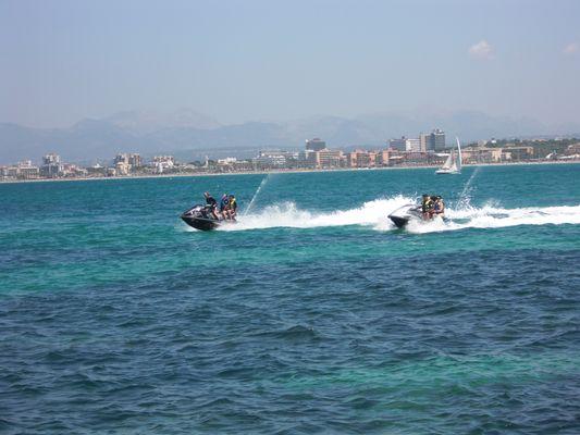 Jetski auf Mallorca