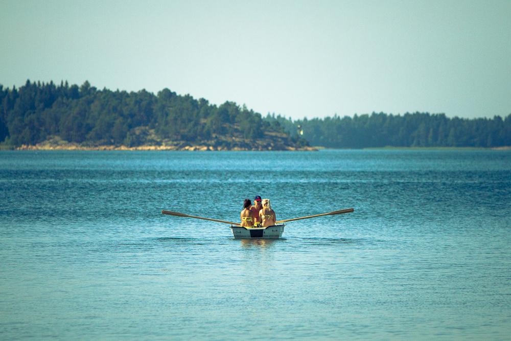 Jetzt fahrn wir übern See ...