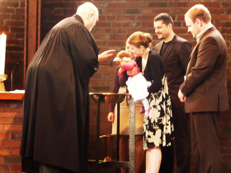 Jetzt getauft,die kleine Lillian...
