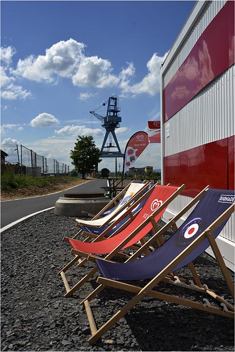 jetzt kann der Sommer kommen...Offenbacher Hafen