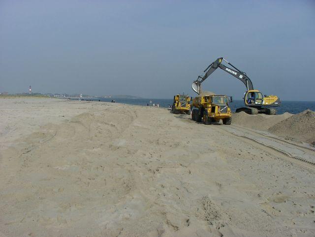 jetzt wisst ihr, wie der Strand entsteht :-)