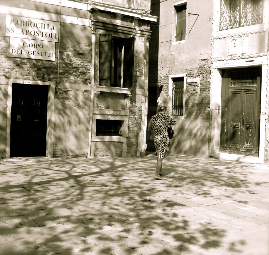 jeu d'ombres Venise 2009
