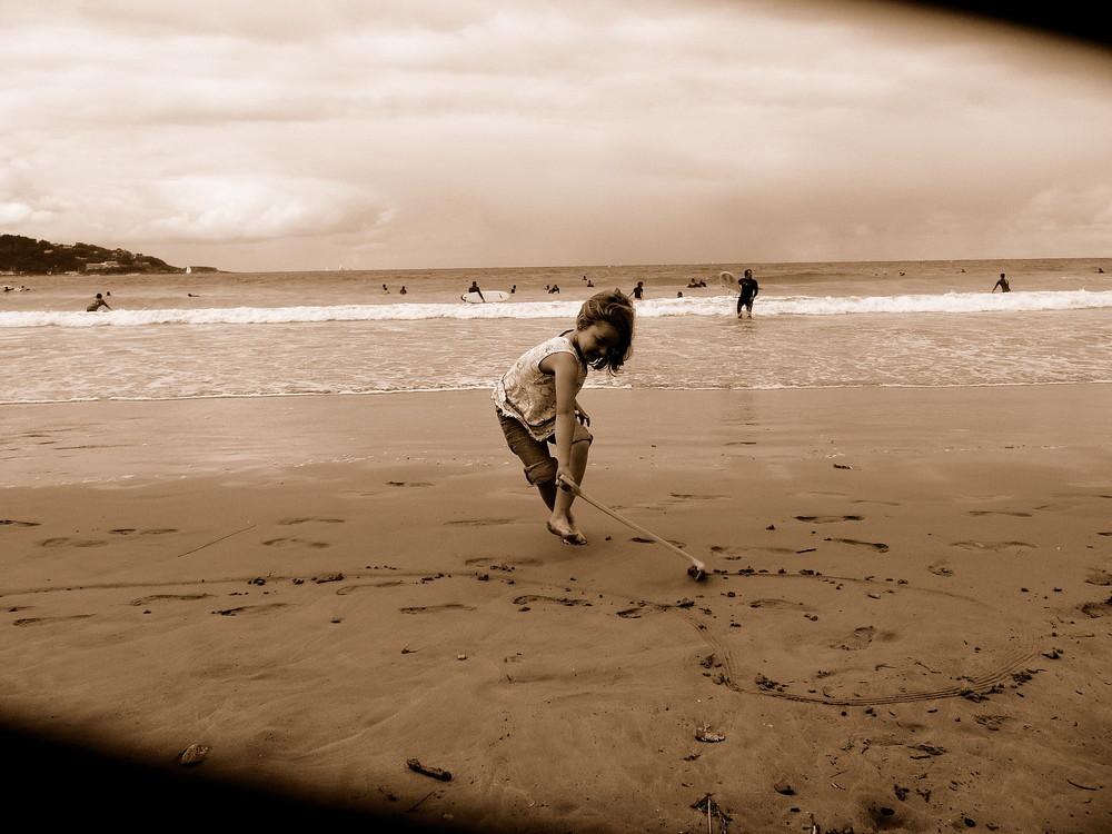 Jeu sur le sable