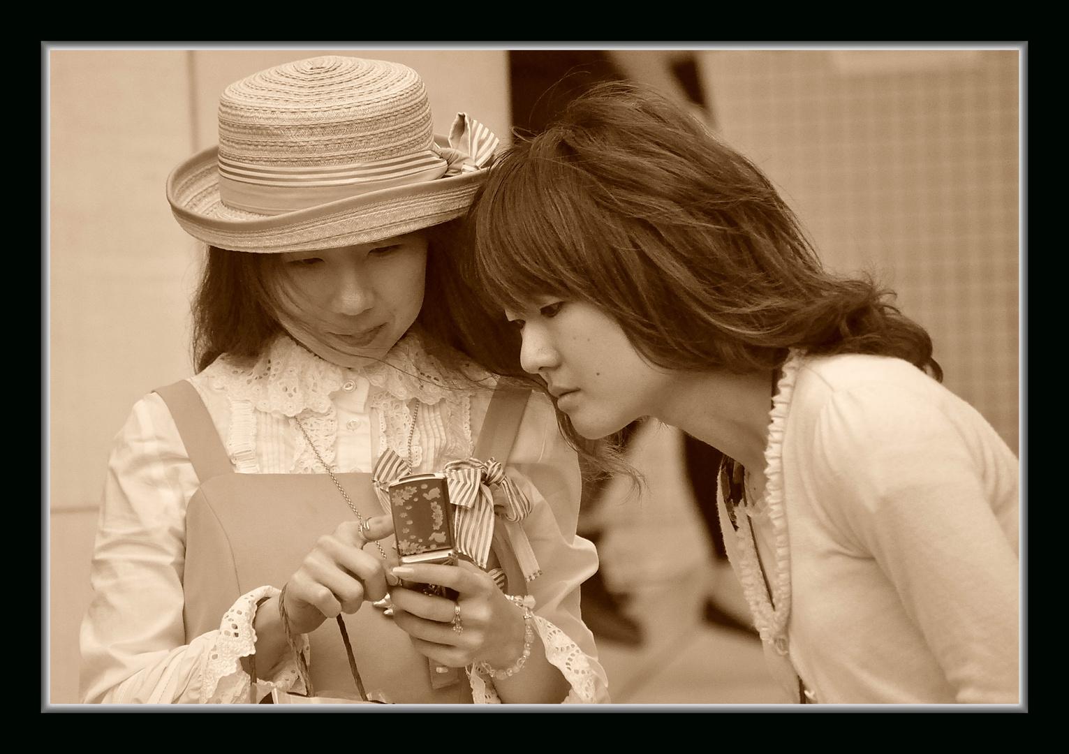 Jeune filles à Tokyo