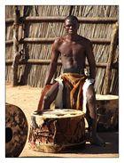 jeune musicien Swazi