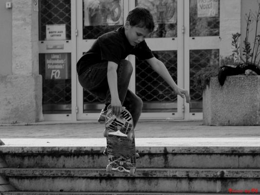 jeune skateur