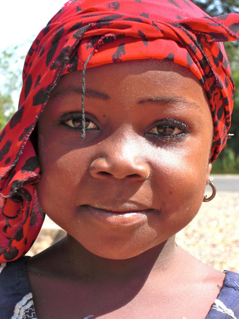Jeune villageaoise de Yankari