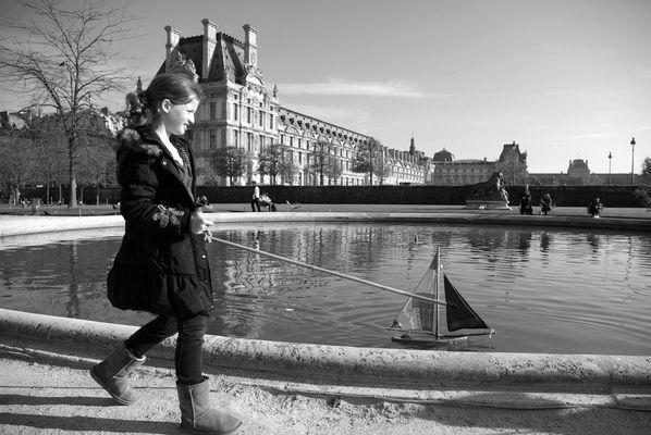 Jeux d'antan - Paris - jardin des Tuileries - Novembre 2011