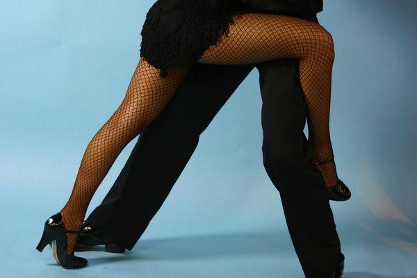 jeux de jambes tango