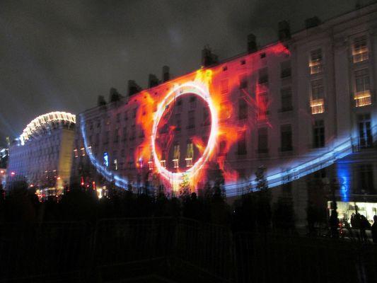 Jeux de lumières à Lyon