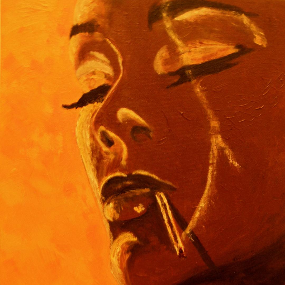 JILL SCOTT by DEE BEE SMITH 2012 /acrylic on canvas/