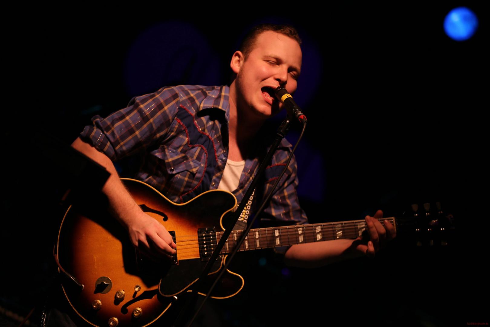 Jimmy Bowskill - Bluescaravan 2013 - Nürnberg