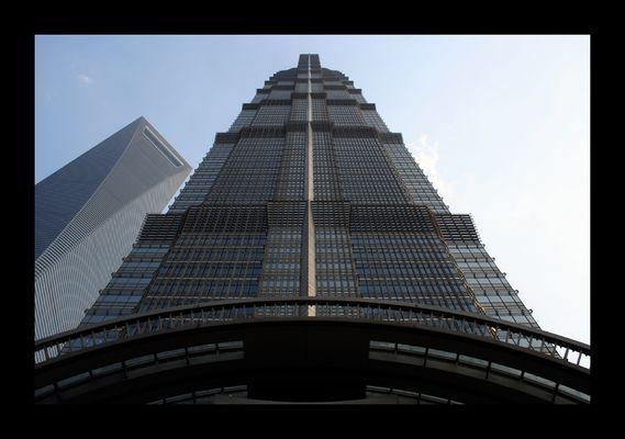 Jin Mao und Shanghai World Financial Center