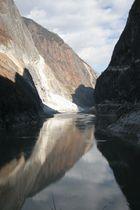 Jinshajiang (Goldsandfluss) in Yunnan