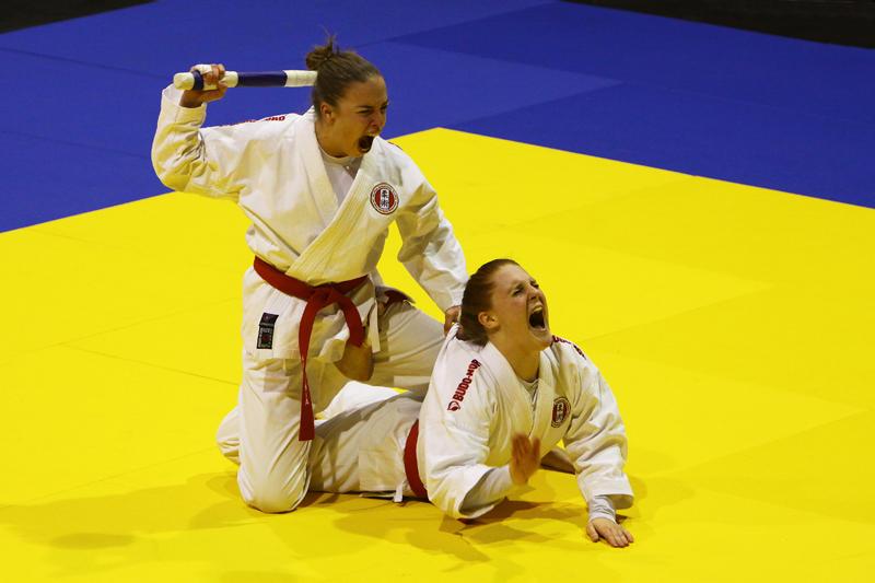 JIU JITSU World Championship Vienna 2012 DUO Women 1