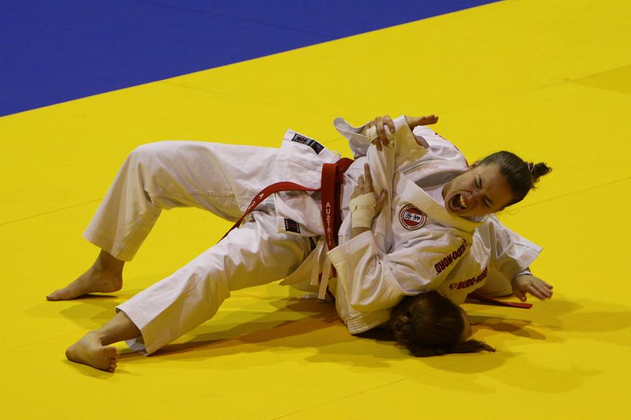 JIU JITSU World Championship Vienna 2012 DUO Women 3