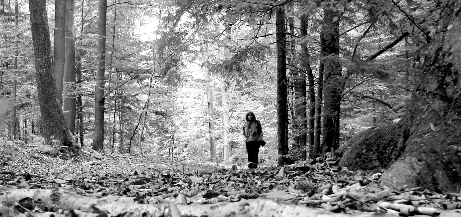 Jo en forêt.