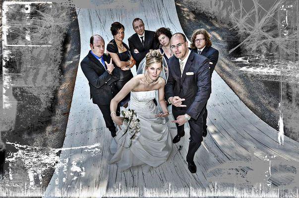 """""""Jo, Mann"""" - Skater Wedding"""