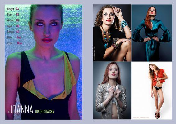 Joanna - cantante mezzosoprano, modella
