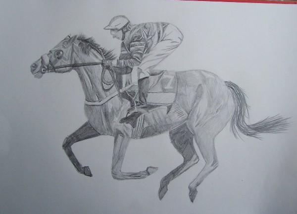 Jocky Zeichnung