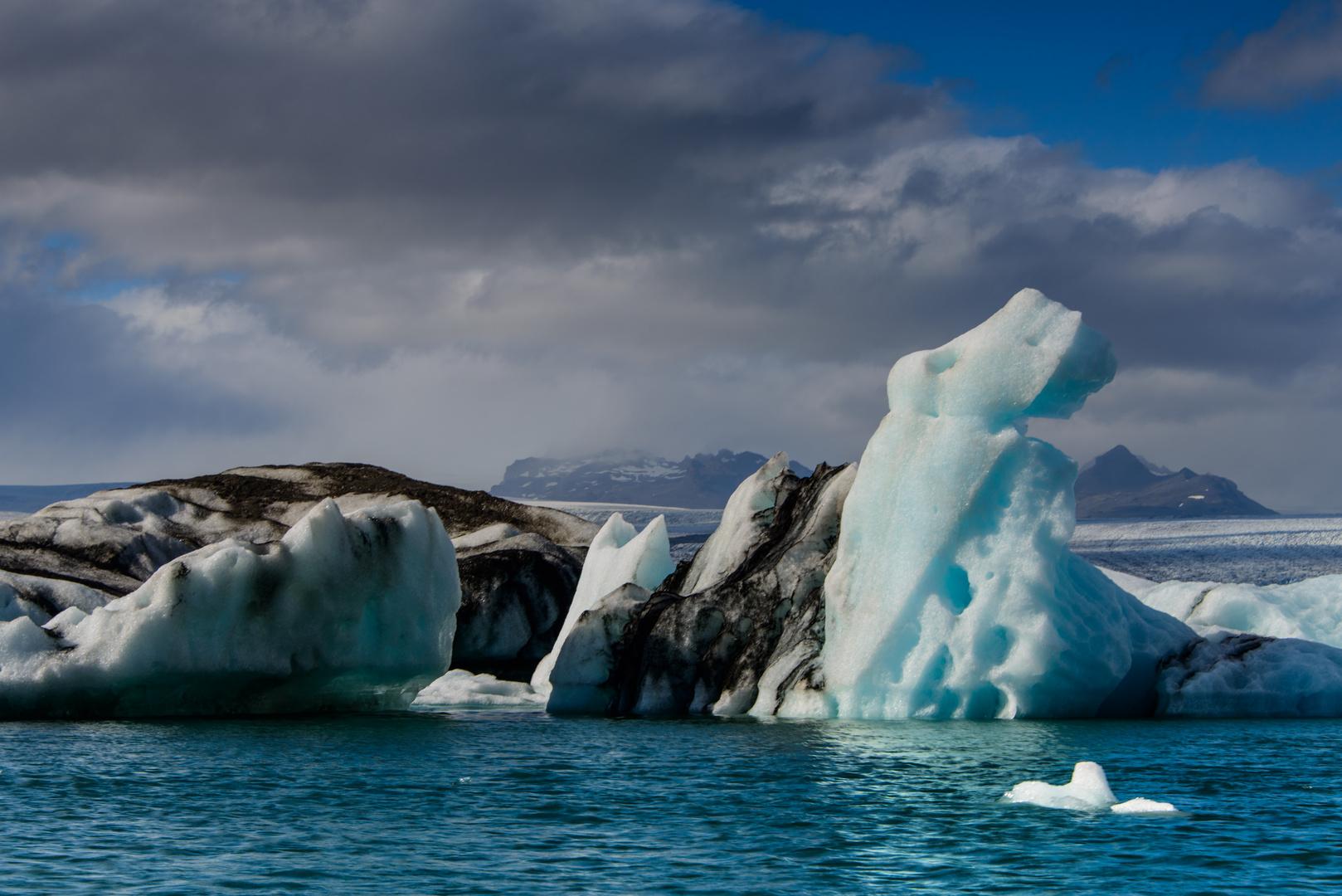 Jökulsárlón Gletscher Lagune