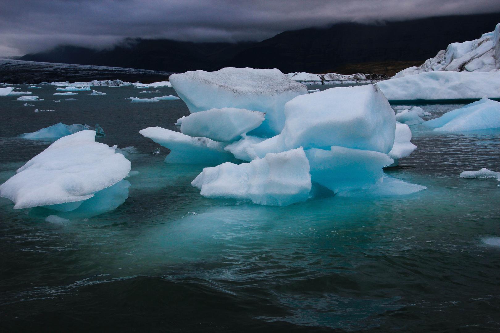 Jökulsárlón - Gletscherflusslagune