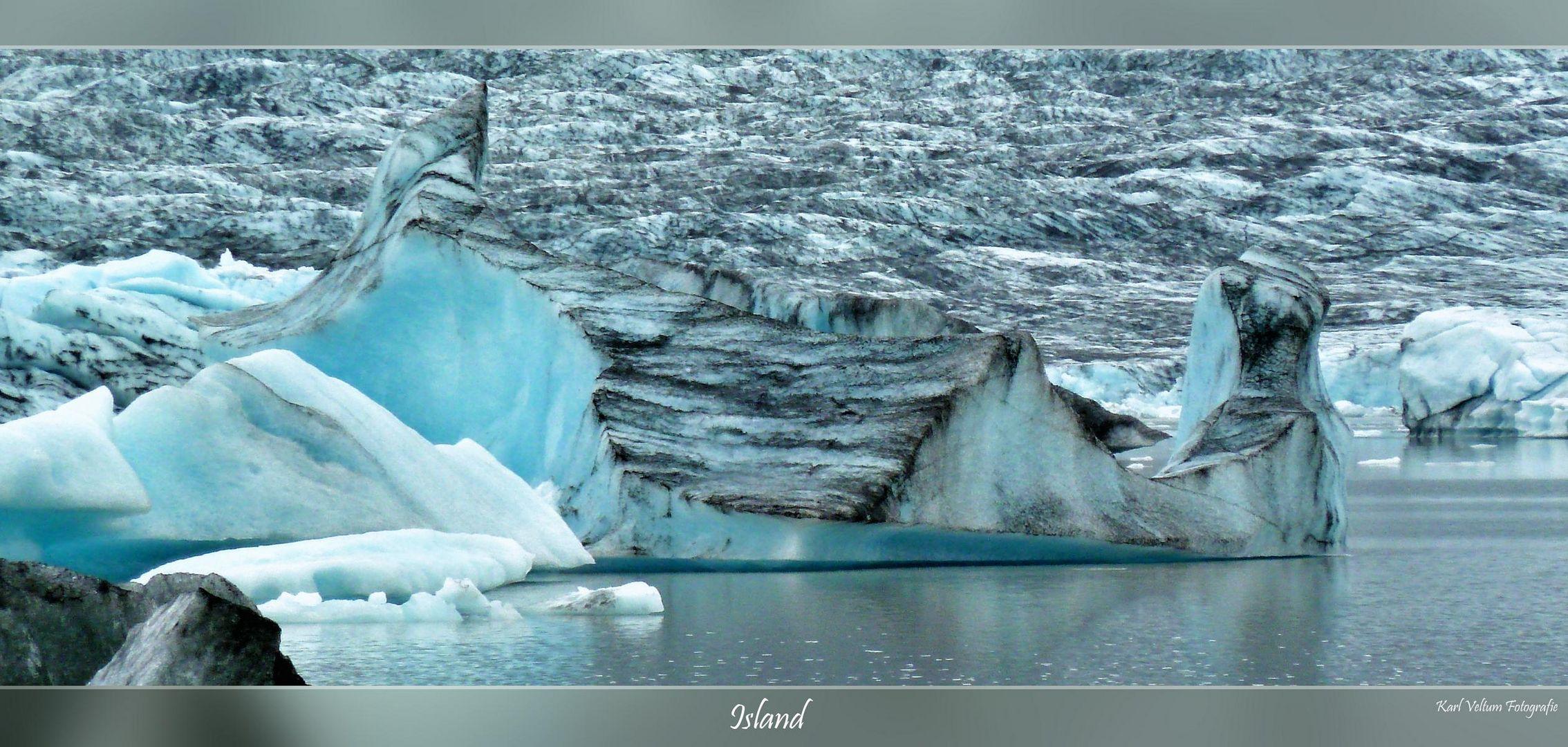 Jökulsárlón Gletschersee Island