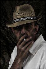 Jörg mit Zigarette