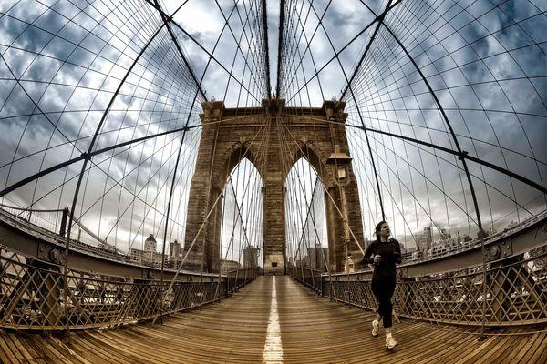 Jogging Brooklyn to Manhattan
