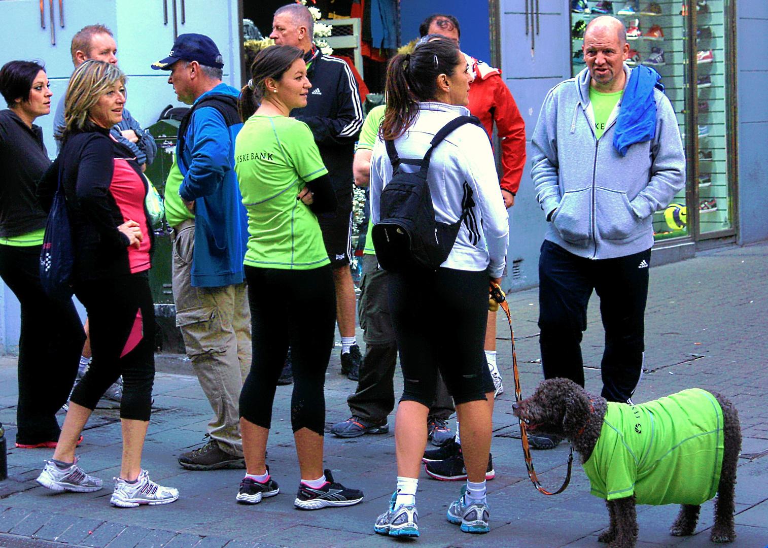 Jogging-Freunde-Gibraltar