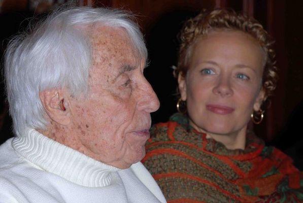 Johannes Heesters und Katja Riemann