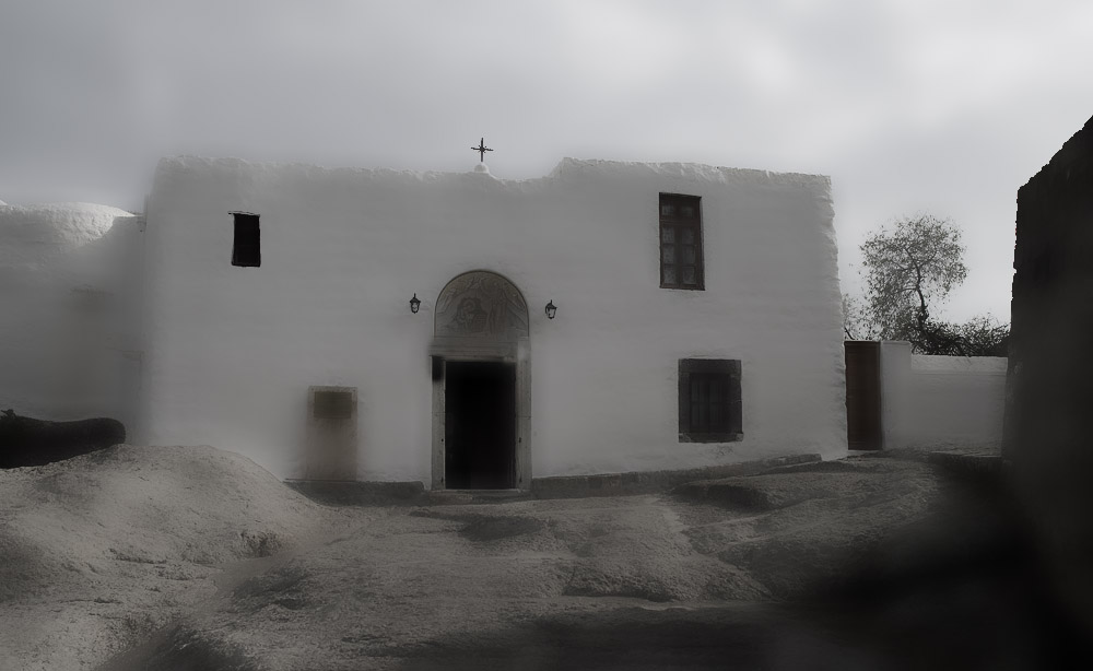 Johannes und die Apokalypsi - Patmos