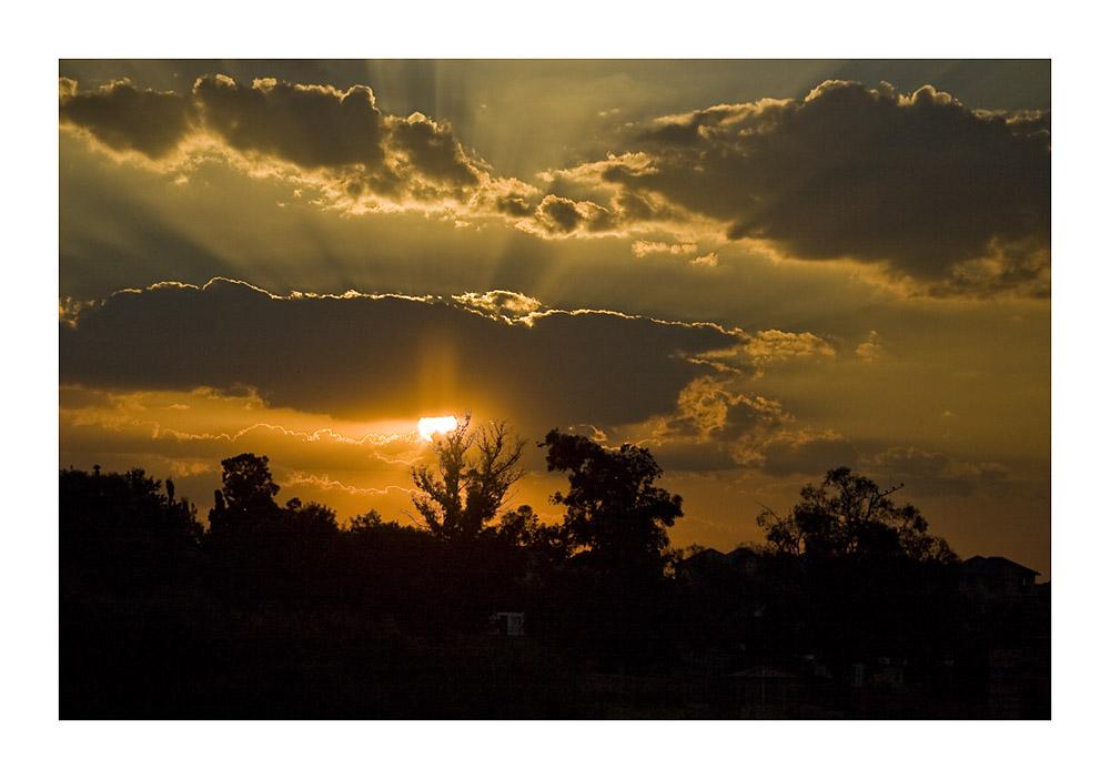 Johannesburg Sunset 1