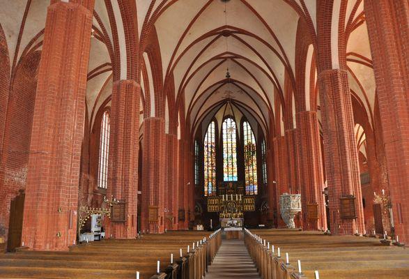 Johannis-Kirche in der Hansestadt Werben